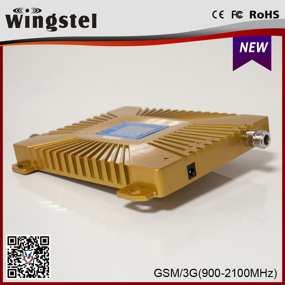 High Quality 900/2100MHz 3G 4G Mobile Signal Booster with Antenna