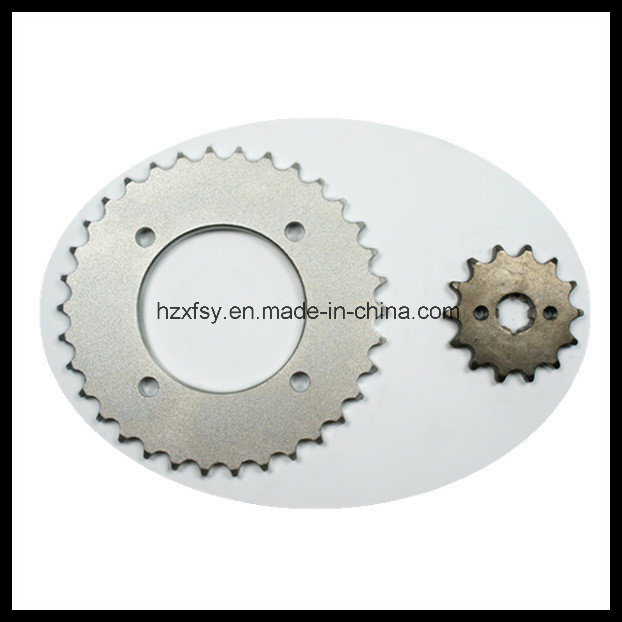 Hot Sale in South America Biz 125 Motorcycles Sprocket