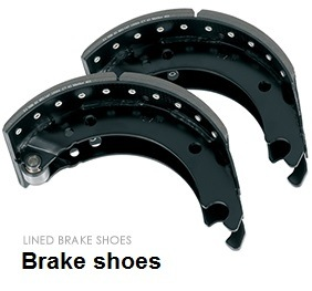 Truck and Trailer Brake Shoe with ECE R90 Linings