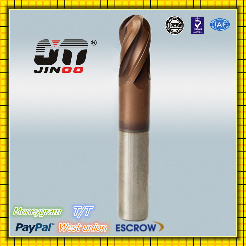 Solid Carbide Milling Cutter Helical End HRC50