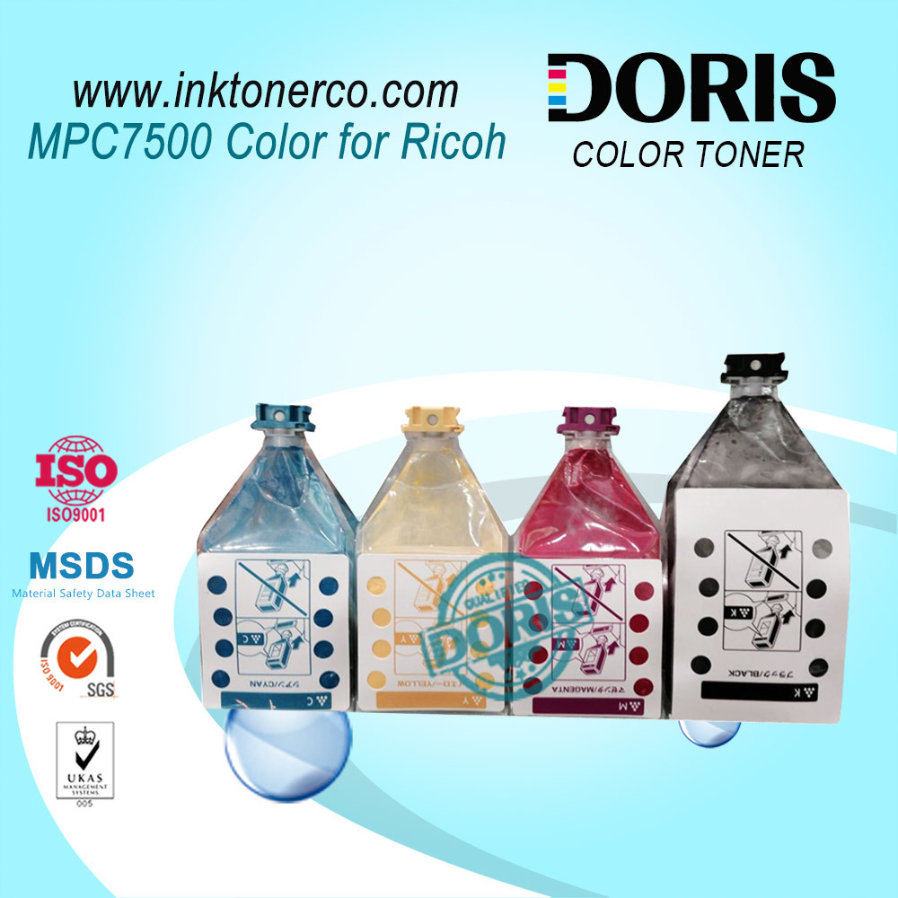 Bulk Refill Toner Powder Cartridge Mpc7500 Mpc6000 Mpc6500 Color Copier for Ricoh