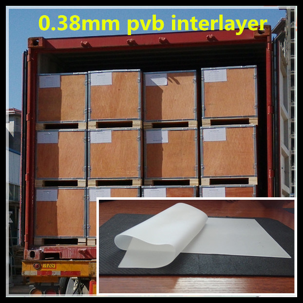 Exporting Building Laminated Clear PVB Film