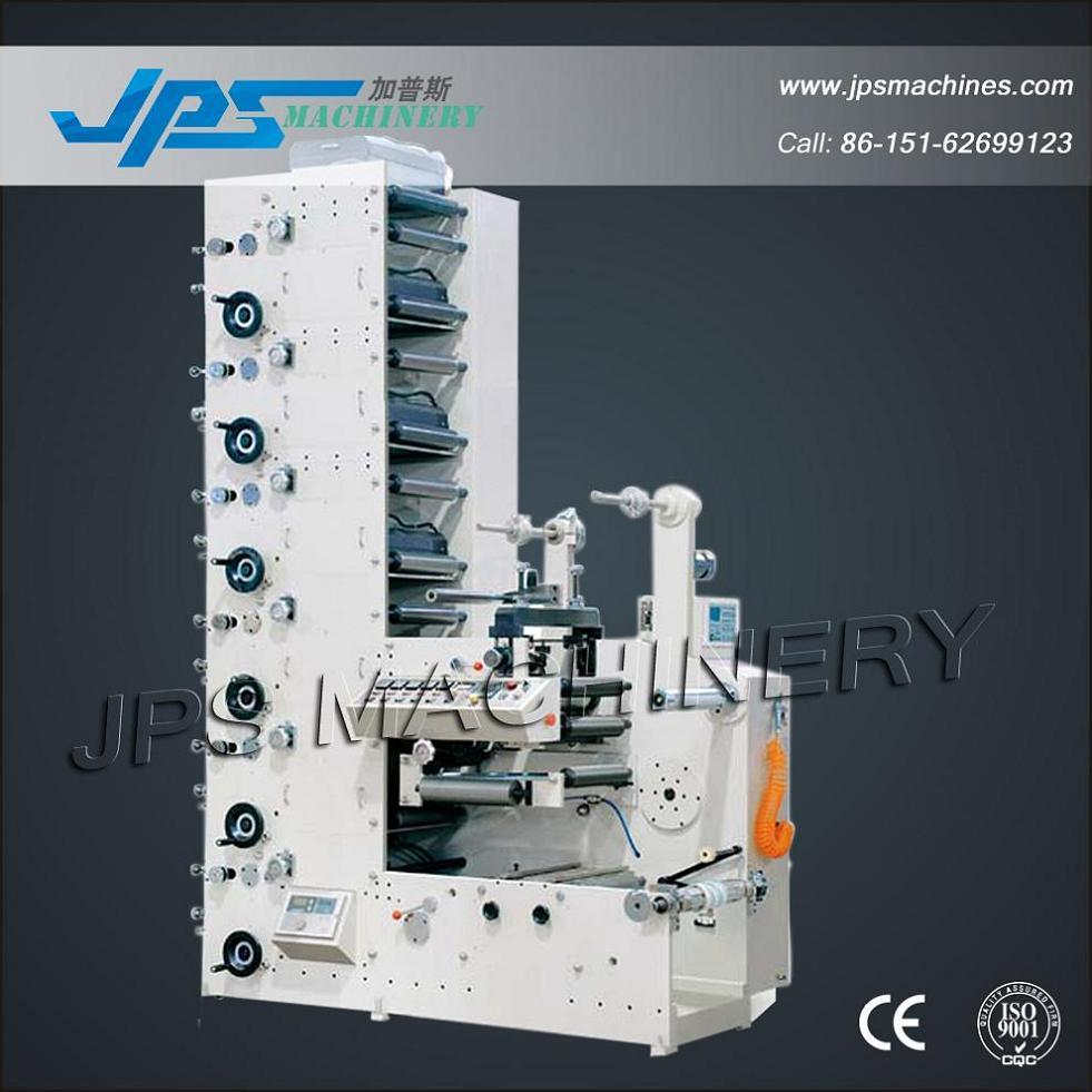 Automatic Flexographic Flexo Label Printing Machine (Printer Machine)