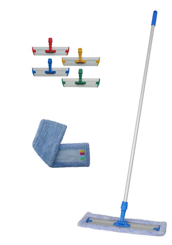 Microfiber Flat Mop System Flat Microfiber Mop Heads