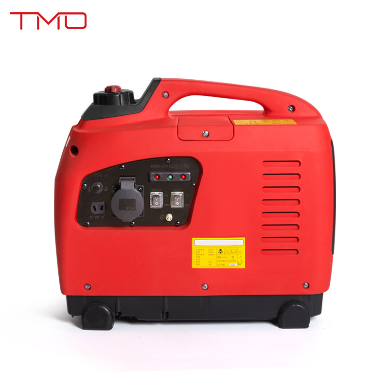 1kw 53cc 2.7L 120V or 230V LCD Screen Simple Operation Feul Gauge USB Port or Cig Socket Small Portable Inverter Generator