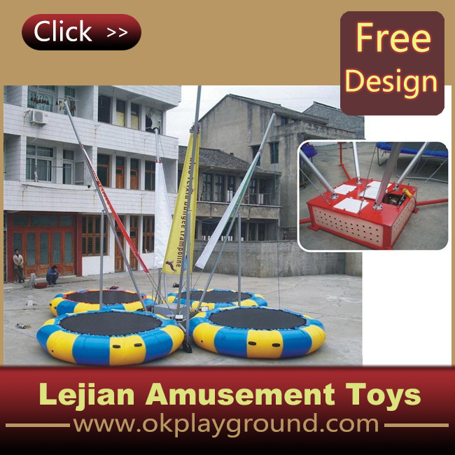 2016 Ce Hot Style Amusement Park Bungee Trampoline (12175A)