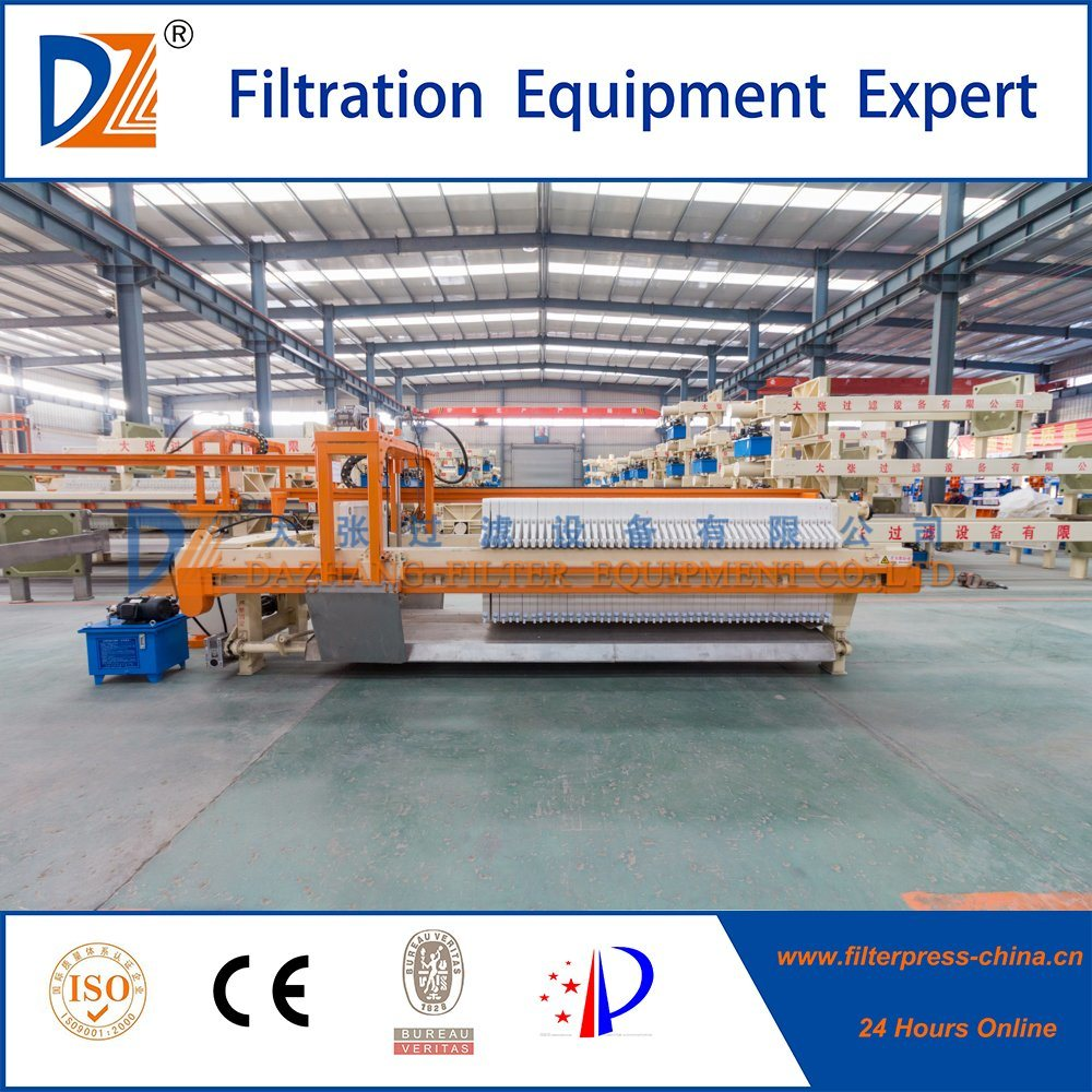 Automatic Chamber Filter Press with Auto Cloth Washing
