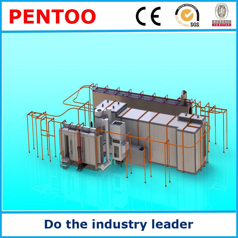 2016 High Quality Powder Coating Line Manufacturer