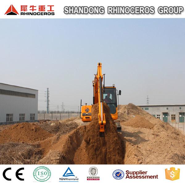 Hot Popular 9 Ton Hydraulic Crawler Excavator with 0.3m3 Bucket