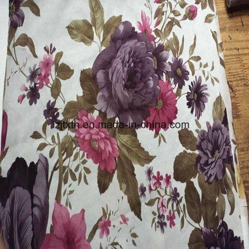 100%Polyester China Wholesale Hometextile Paper Printed Velvet