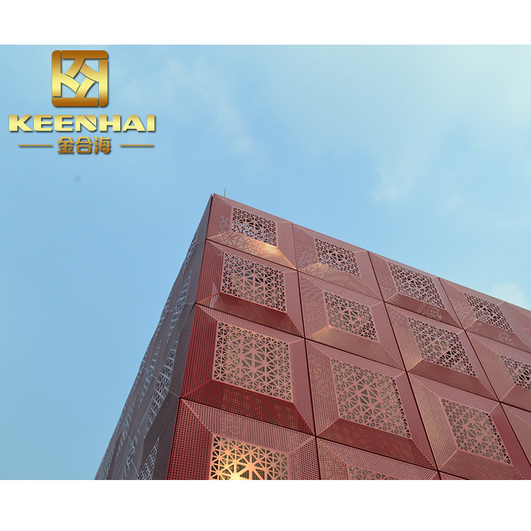 Customized Decorative Metal Outdoor Wall Panel for Sale