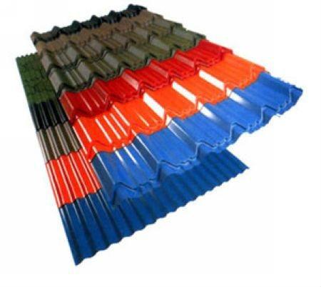 Prepainted Corrugated Galvanized Metal Roofing Sheet
