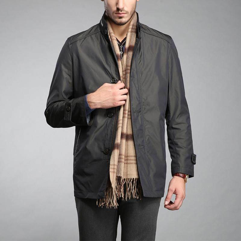 Outdoor Raincoat Men Nylon Windbreaker Jacket