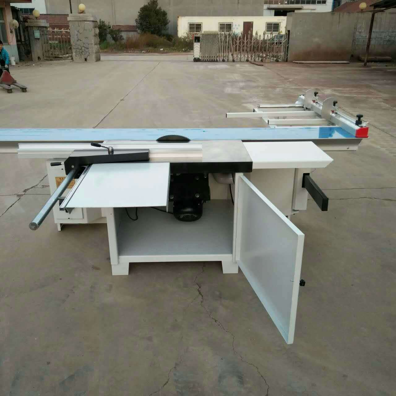 Two /Double Blades Wood Cutting Machine Precision Sliding Table Panel Saw
