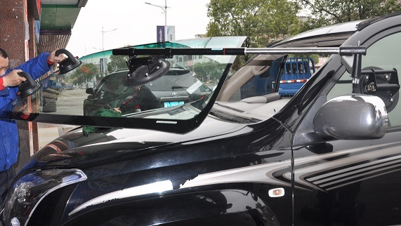 One Man Installation Tool for Car Windshield