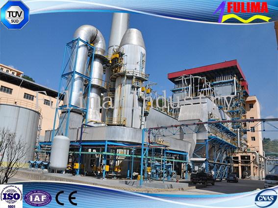 Boiler Heavy Steel Structure (FLM-B-001)