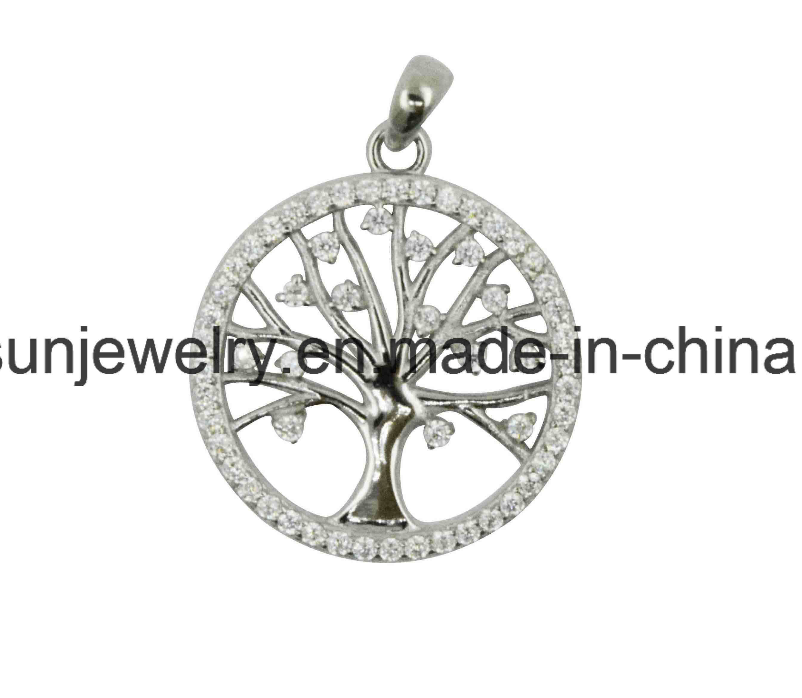 2016 Hotsale Silver Life of Tree Pendant for South American Market