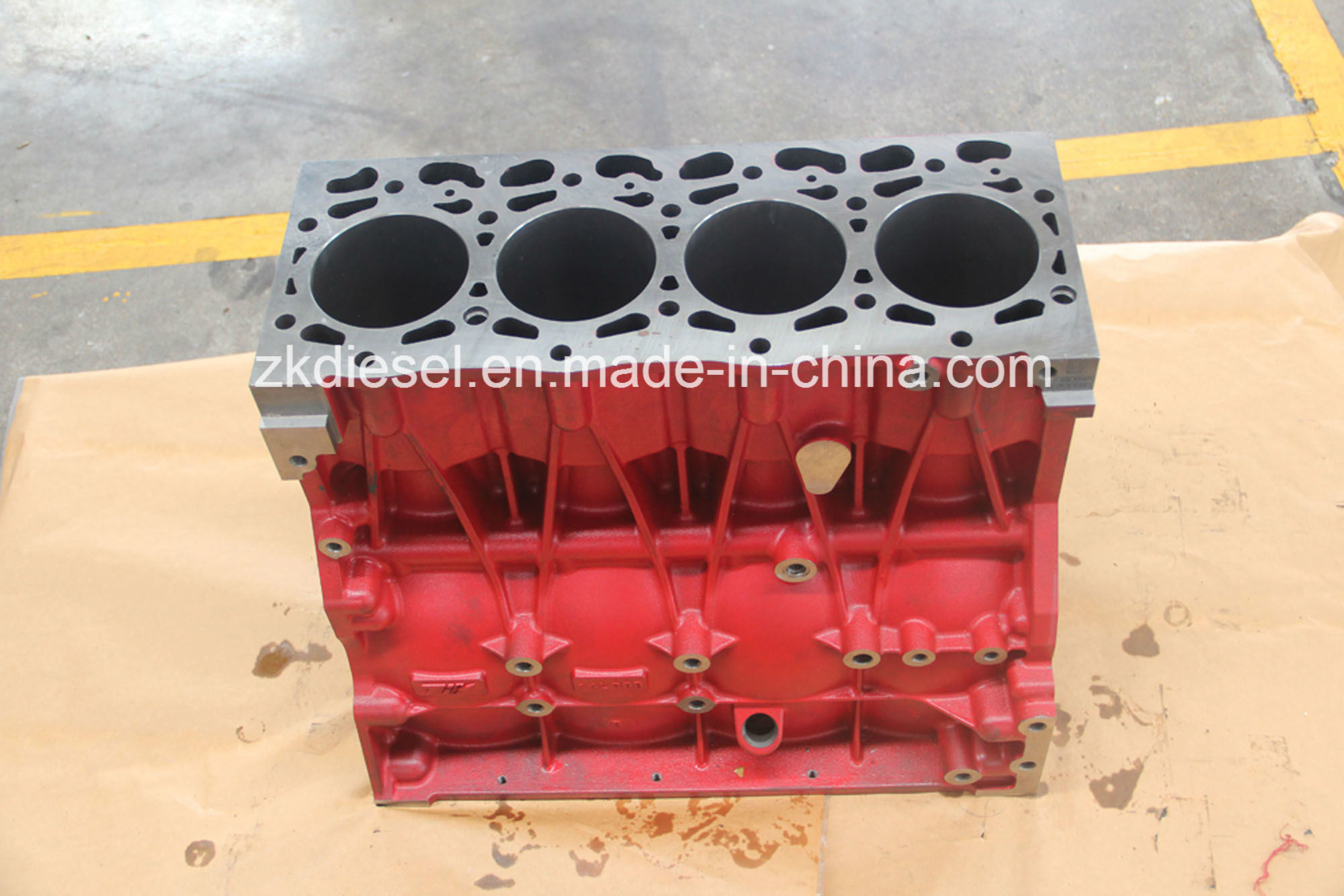Manufacture Cylinder Block Isf3.8 Cummins Block 5289696/5261256/5289698/5256400