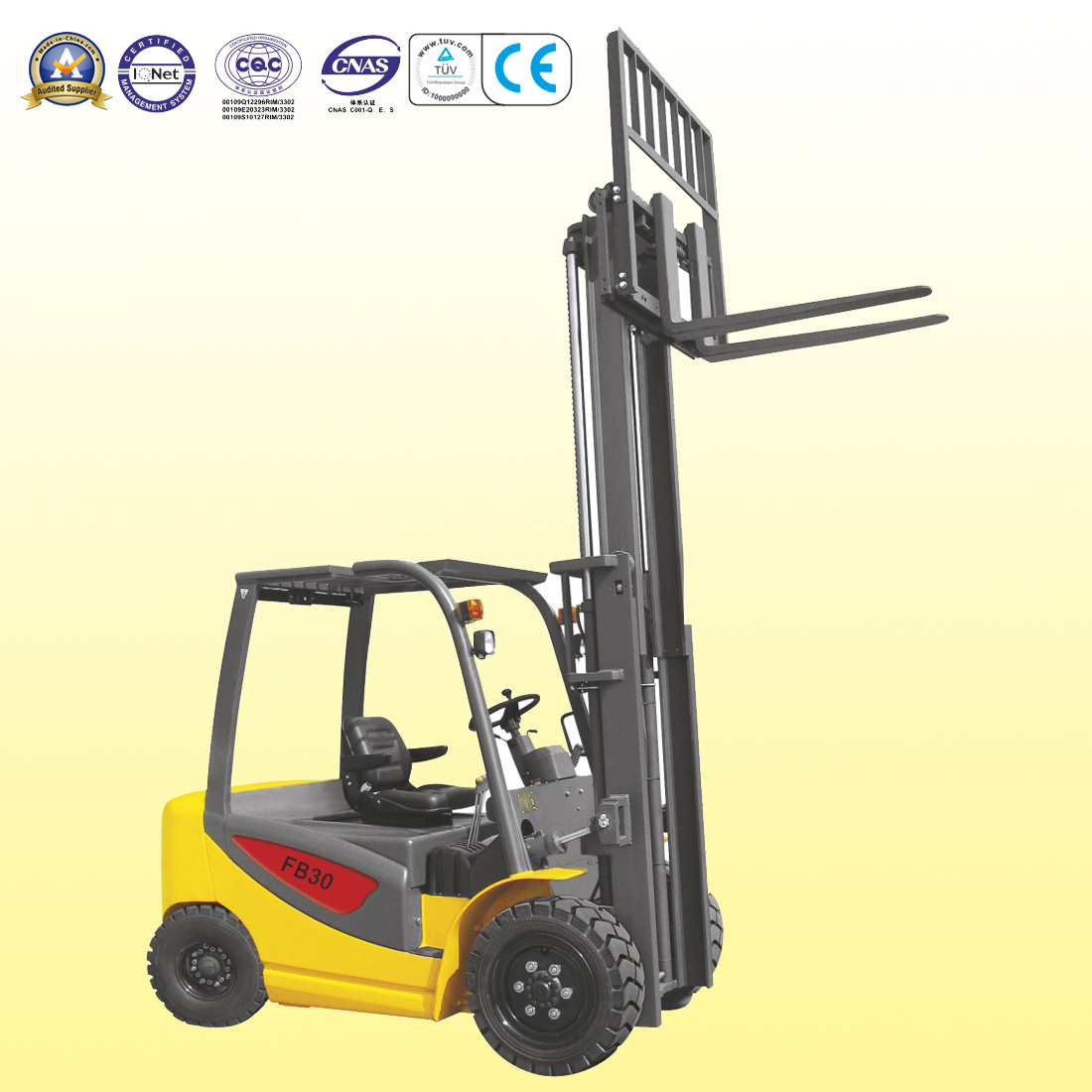 2.5-3.5t Electric Forklift Truck