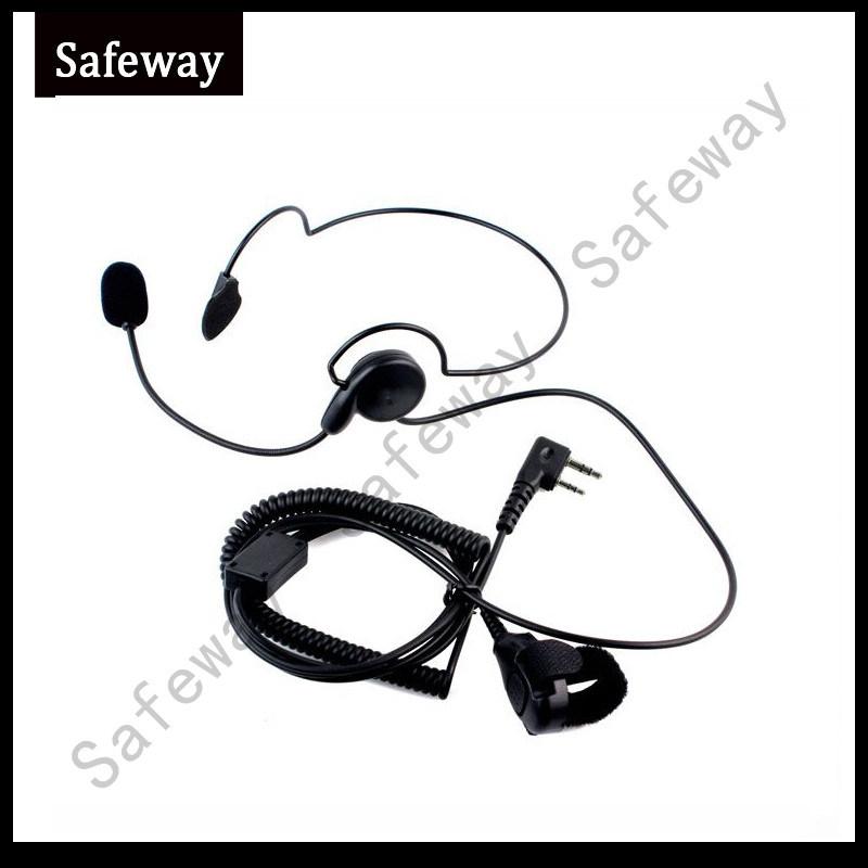 Headband Two Way Radio Headphone Earphone for Kenwood