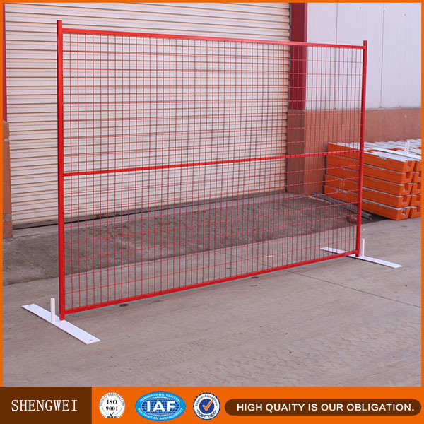 Factory Price 6X9.5FT Construction Site Temporary Fence in Canada Market