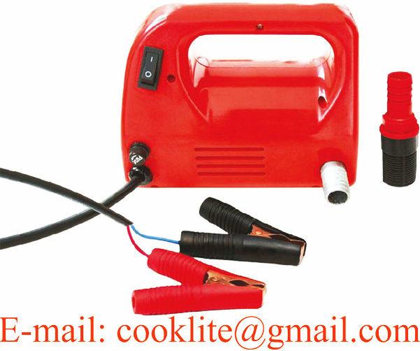 12/24V DC Electric Oil Diesel Fuel Transfer Pump / Diesel Fuel Dispenser - 120W 30L/Min