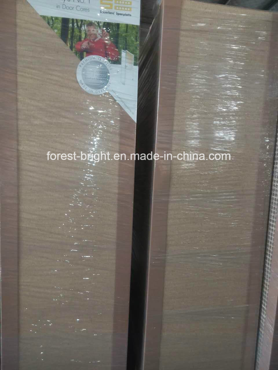 High Pressure Decorative Laminate (HPDL) Hotel Bathroom Sliding Doors