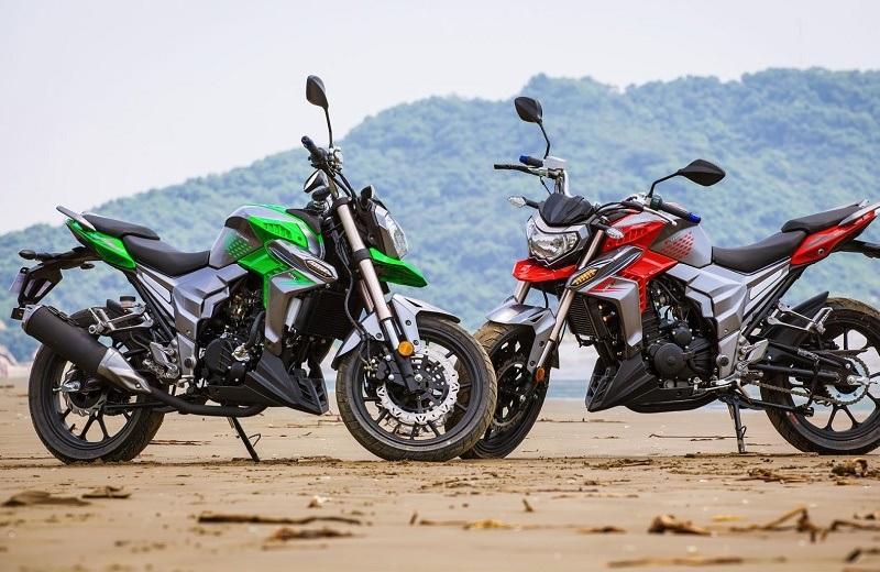 2017 New Motorcycle Sport Naked Bike 250cc, 300cc