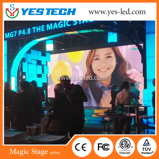 Magic Stage P4.8 Outdoor Full Color LED Display Screen for Stage and Advertising