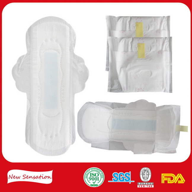 Soft Cotton Sanitary Pad Sanitary Towel in Guangzhou
