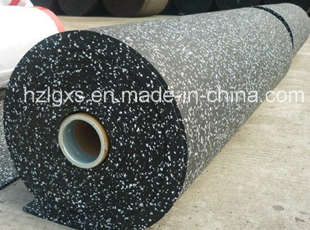 Colored EPDM Granules Gym Rubber Flooring Rolls