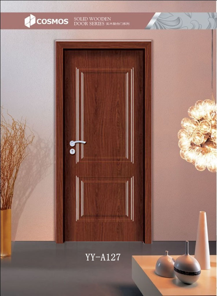 China Simple Design Flush Wooden Door Yy A127 Photos