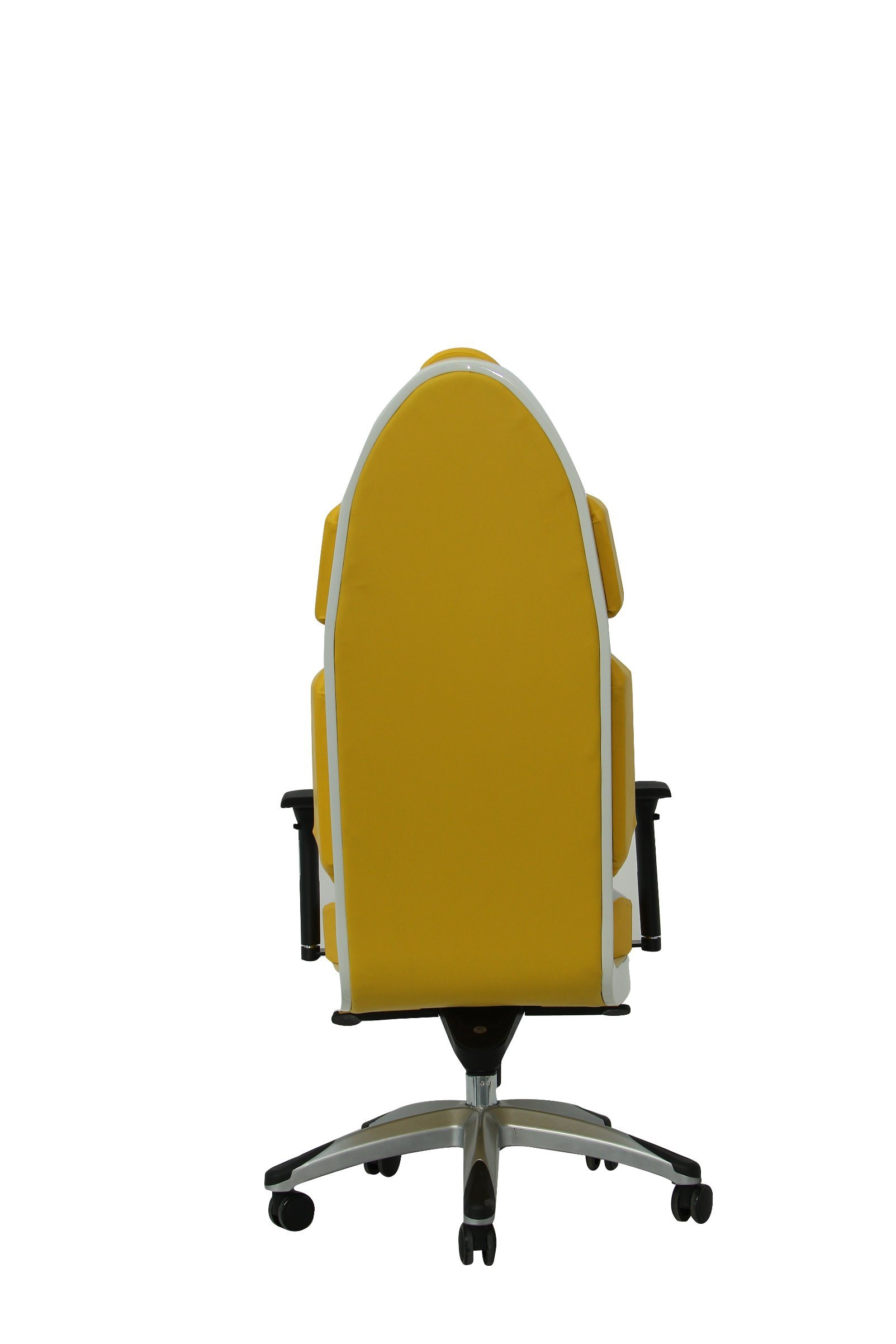 Luxury Yellow Fashion PU Office Chair