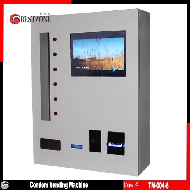 Mini Box Vending Machine with 15′ LCD