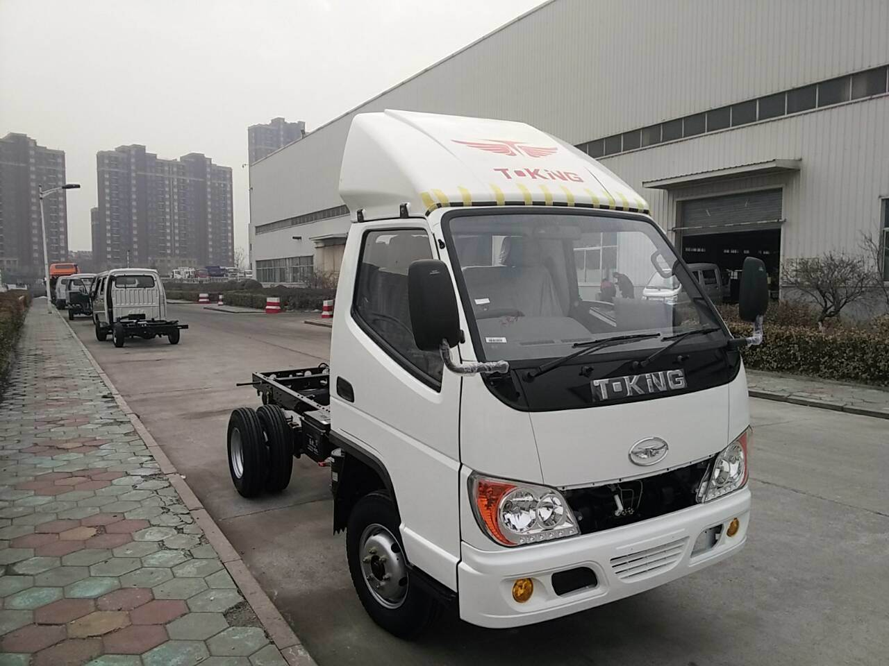 T-King 1 Ton Diesel Mini Truck, Light Truck, Cargo Truck