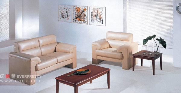 Furniture Sofa, Modern Leather Sofa, Sofa Set Leather Genuine Guangzhou (FS-08)