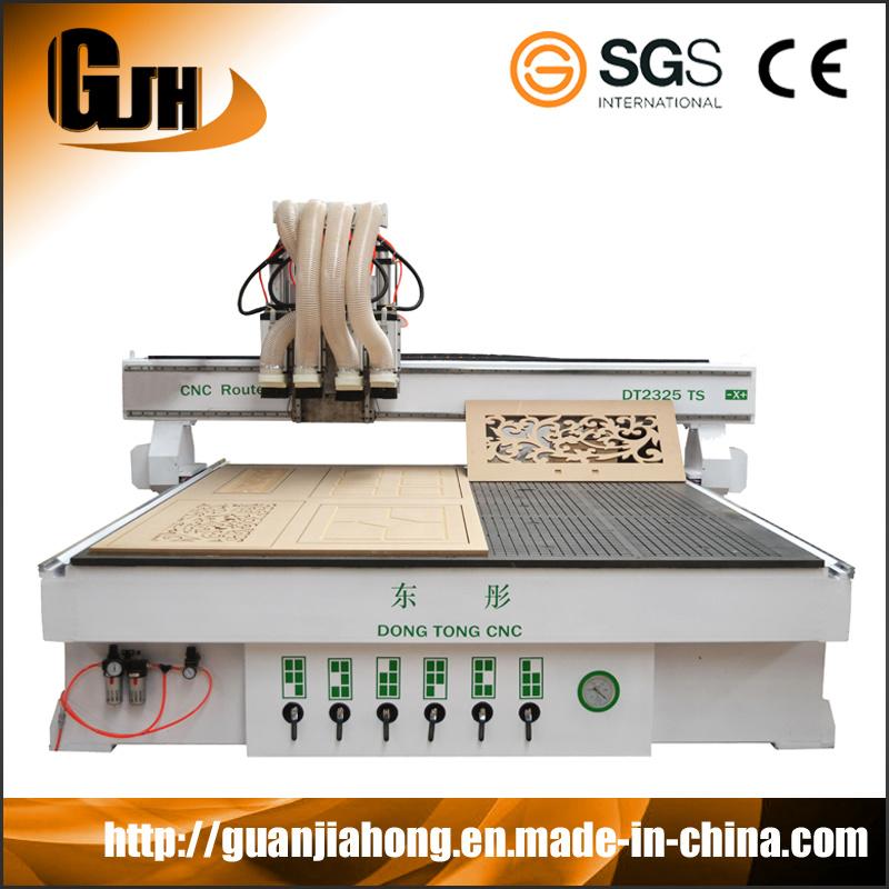 Multi Process Engraving Machine Wood Multi Workstage Atc CNC Router