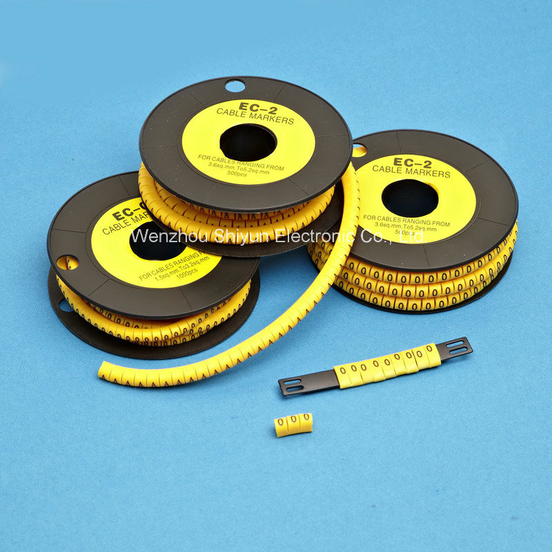 Flat & Circular Cable Markers (PVC)