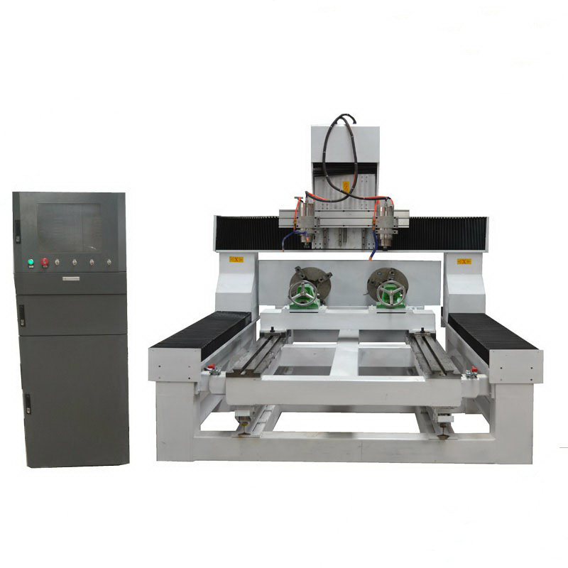 3D 4 Axis Stone, Wood CNC Router