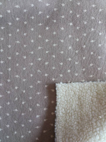 See Larger Image Faux Fur Bonding Suede /Girl Winter Jacket Fabric/Mens Winter Fleece Jacket Fabric (ESFH-555)