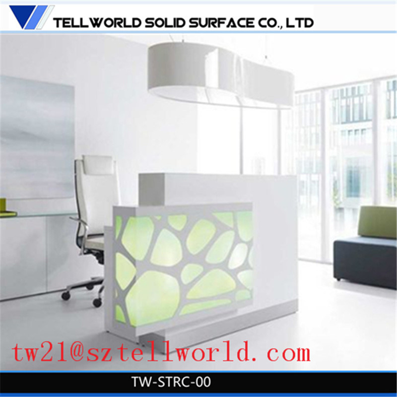 China Modern Designer Office Reception Counter Models Corian ...