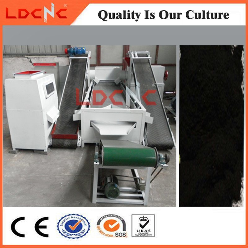 Automatic Waste Used Car Tyre Rubber Powder Production Line