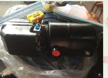 DC 12V Hydraulic Pump Dump Trailer Single Acting 10 Quart