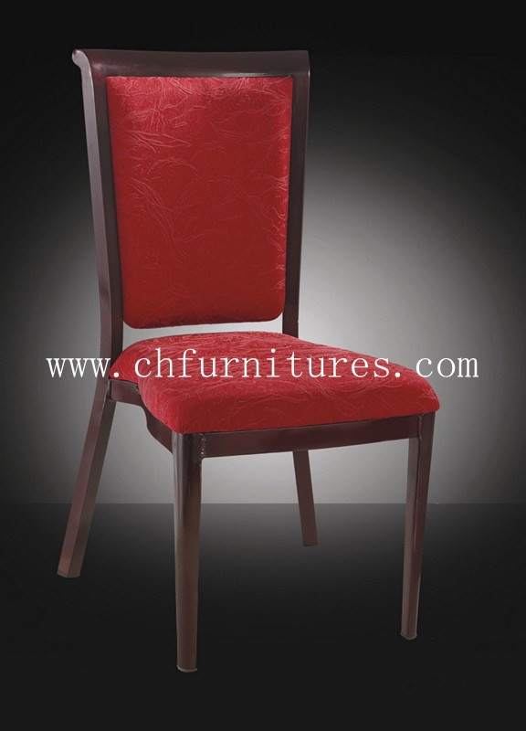 Modern Aluminum Wood Grain Chair for Living Room and Dining Room (YC-E62)