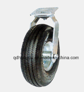 Pneumatic Tyre High Quality Castor Wheel (10X350/410-4)