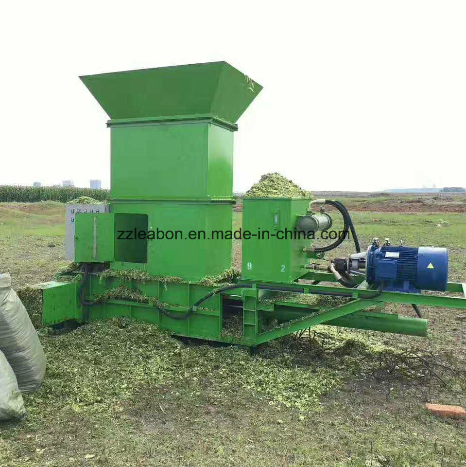 Wood Shaving Packing Machine Corn Silage Baler