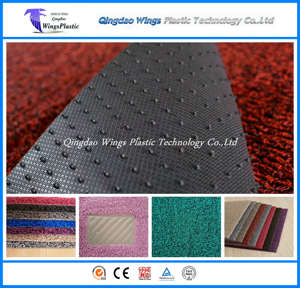 PVC Cushion Mat / PVC Coil Mat / PVC Car Mat in China