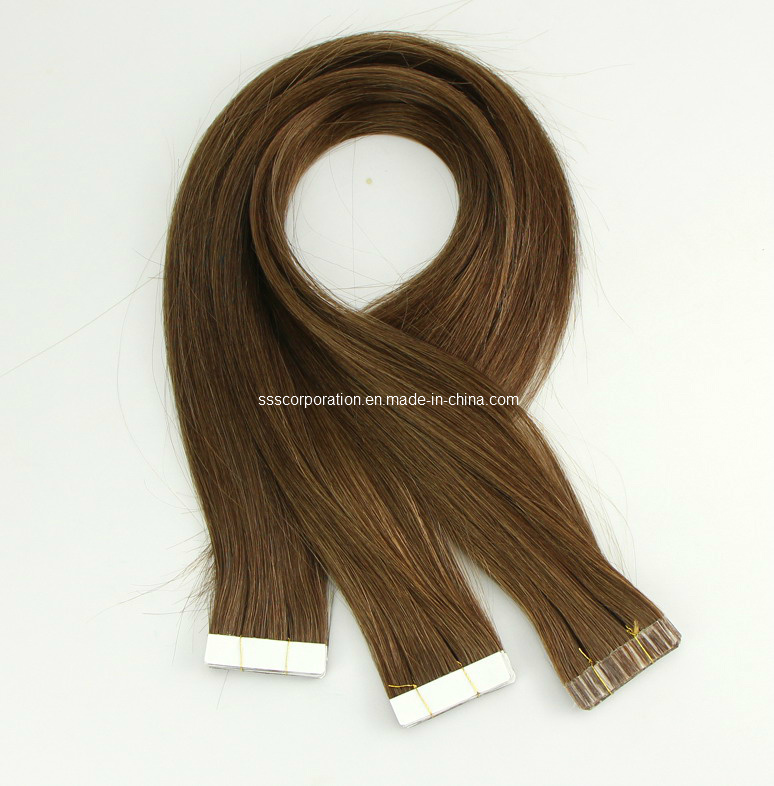 Remy Human Hair Tape in Hair Extensions