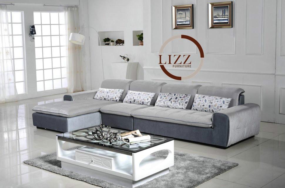 Russia Modern Living Room Furniture Fabric Sofa