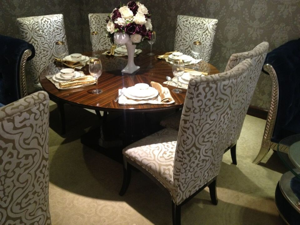 China luxury hotel dining furniture chair and table for for Hotel table design